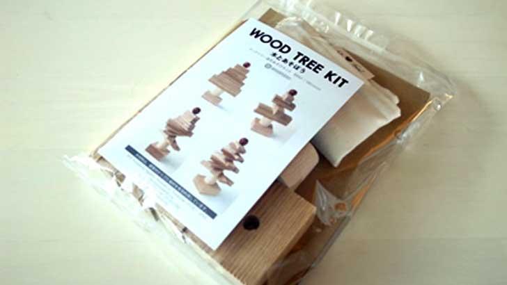 【アイスタジオウッズ】木のおもちゃ専門店のウッドツリーキットを注文
