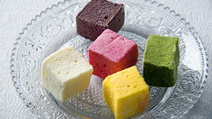 【パティスリー・エスキィス】ギモーヴって何?素材の色と風味が生きた、もっちり食感&軽い口溶けの生マシュマロ
