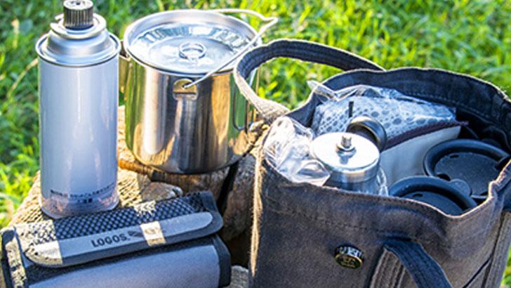 心地いい季節を丸ごと楽しむ、道具を揃えたアウトドア・コーヒーのすすめ