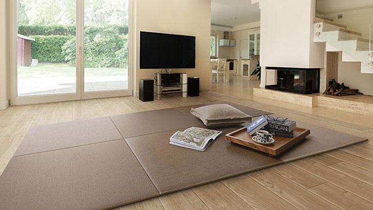 【ここち和座 彩園】簡単に快適な和空間をつくり出せる置き敷き畳