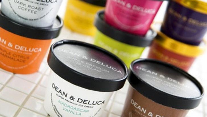 最上級の素材で上品な味に仕上げた「DEAN & DELUCA」のアイスクリーム