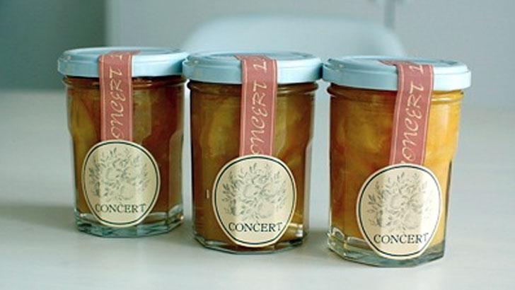 夏を爽やかに。コンセール(CONCERT)のオレンジマーマレードの使用方法