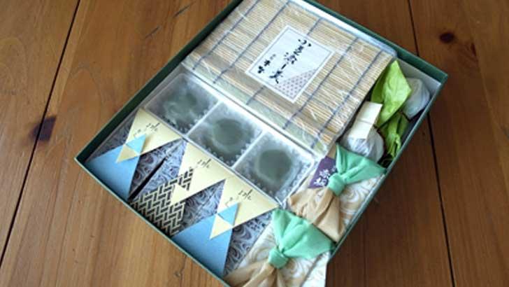 【赤坂青野】暑さをしのげる涼しげなお菓子、お中元に喜ばれる「涼風銘菓撰」
