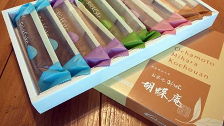 【胡蝶庵】味も色とりどり。便利なスティックタイプのフィナンシェ