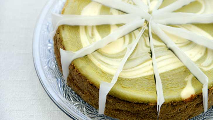【SAM'S】抹茶好きもチーズ好きも大満足!NYスタイルの抹茶チーズケーキ
