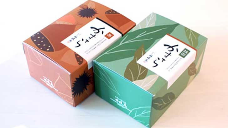 【胡蝶庵】アレンジされた抹茶と栗のカステラ