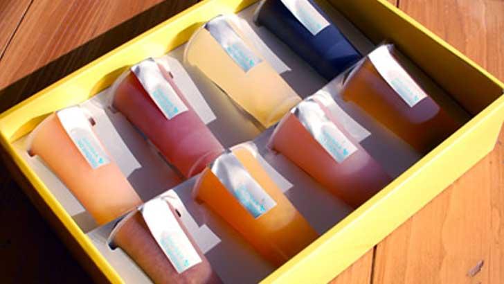 【レ・シュー】シャーベットにもなるゼリー「旬菓の雫」で今年の暑さ対策に