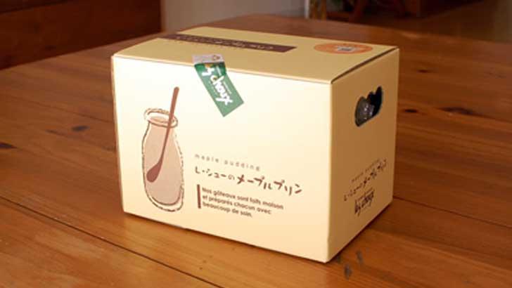 【レ・シュー】最後まできれいに食べきりたい瓶詰めのメープルプリン