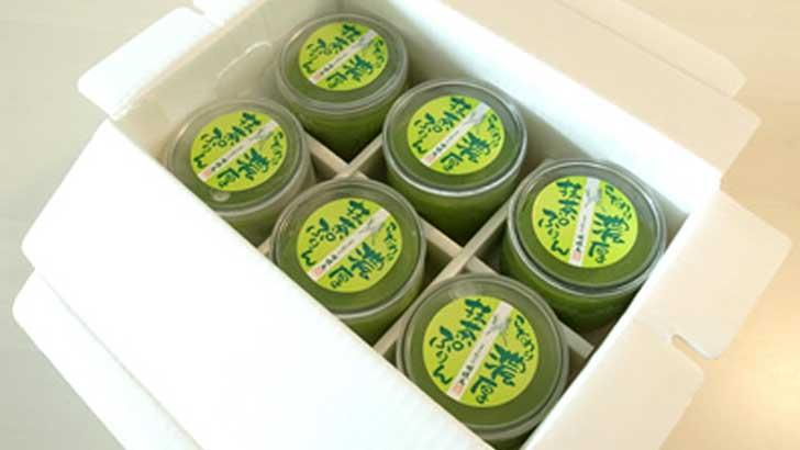 【胡蝶庵】これからの季節、特にオススメの濃厚抹茶ぷりん