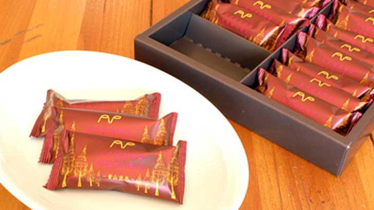 【青山通りのプリン屋さん】甘いだけじゃない、まろやかな塩味のあるホワイトチョコ「青山並木」