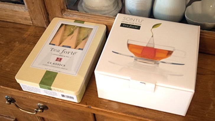 【Tea forte】世界の高級ホテルでも採用された、手軽なのに本格的な紅茶ティーバック
