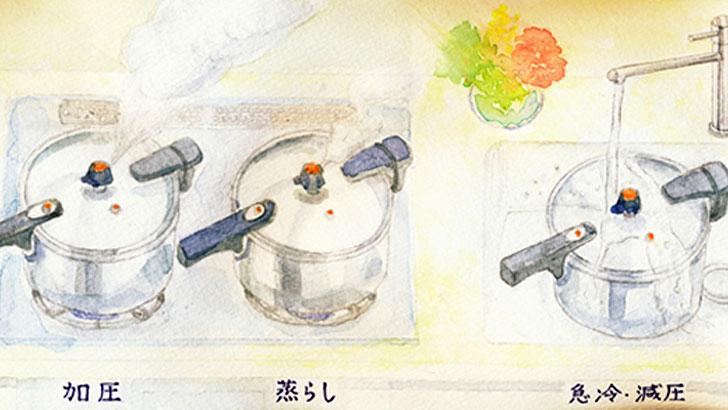 圧力鍋で日々の調理を時短・節約