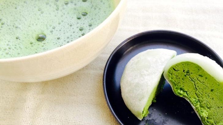 【胡蝶庵】抹茶の香りと濃厚なおいしさが楽しめる「とろける生大福」