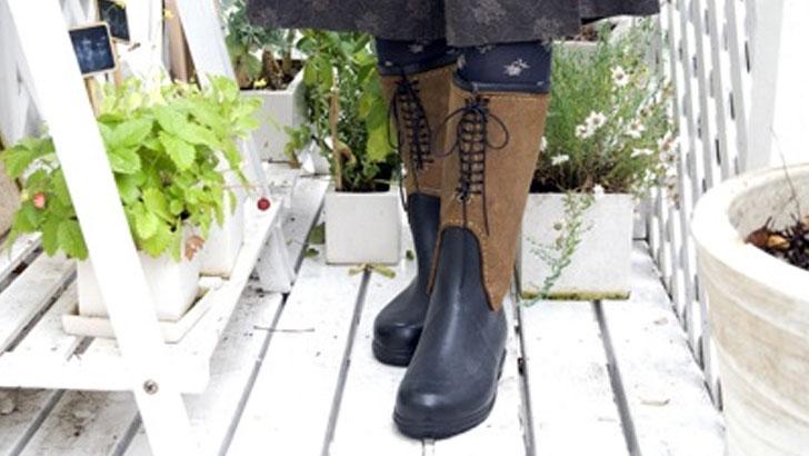 雨の日の外出が楽しくなる!〜履いてかわいい使える雨靴