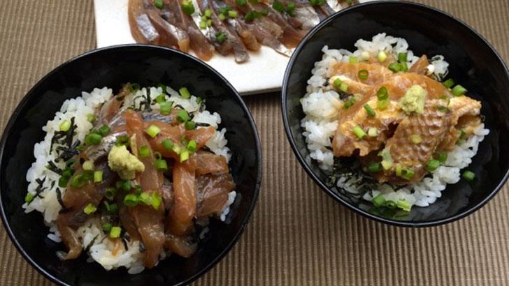 【徳信】牧島流鯵茶漬け~長崎の新鮮な魚を秘伝のタレで漬け込んだ漬け丼