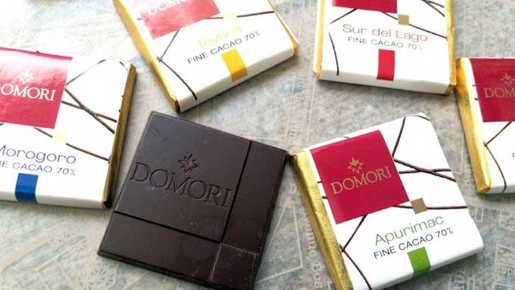 チョコレート界で大注目の「DOMORI」