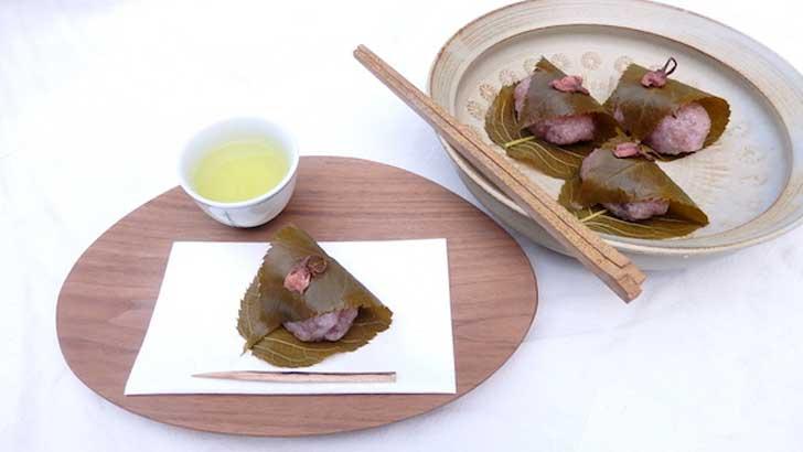 春を呼ぶ和菓子づくり~道明寺桜餅の作り方(レシピ)