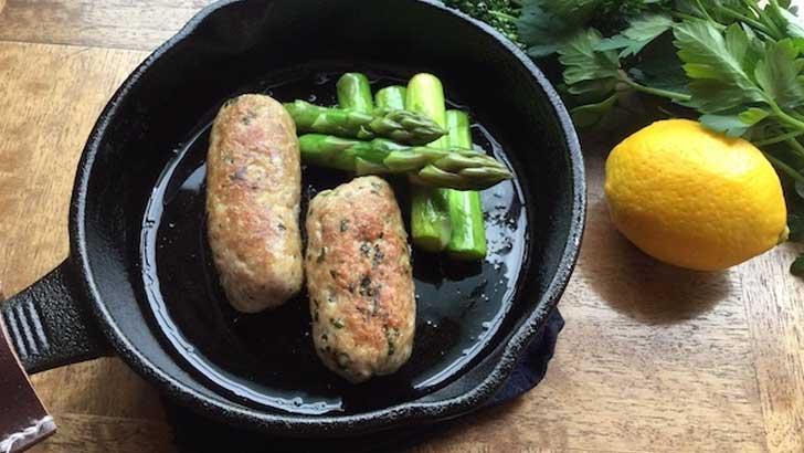 ハーブ&スパイスの風味がぎゅっと詰まったイタリア伝統の腸詰サルシッチャ