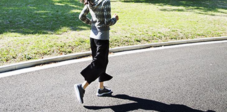 運動不足解消×体力アップ!スロージョギングのすすめ
