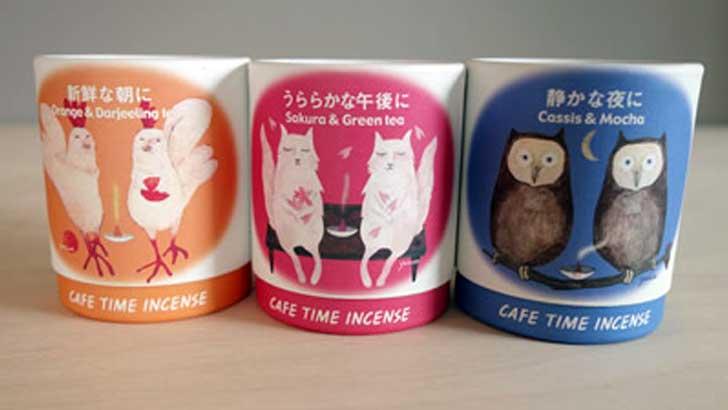 フレーバーのようなお香(日本香堂のカフェタイム インセンス)でリフレッシュ