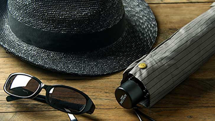 日傘男子?暑い季節の新常識!男性用の「日よけ」アイテム
