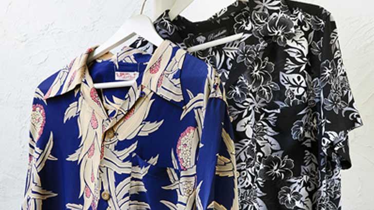 夏の普段着をひと味変える、アロハシャツ