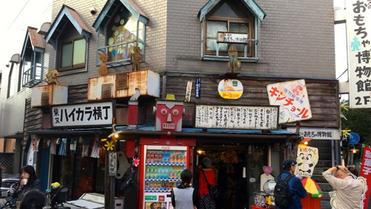 葛飾区・柴又:駄菓子屋「ハイカラ横丁」