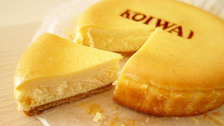 小岩井農場のベイクドチーズケーキ