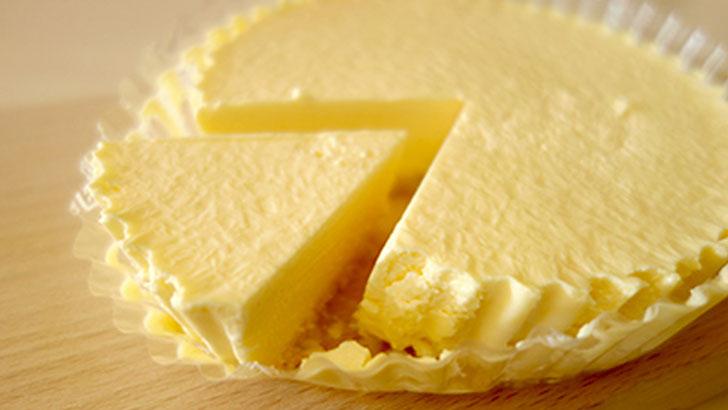 小岩井農場のレアチーズケーキ
