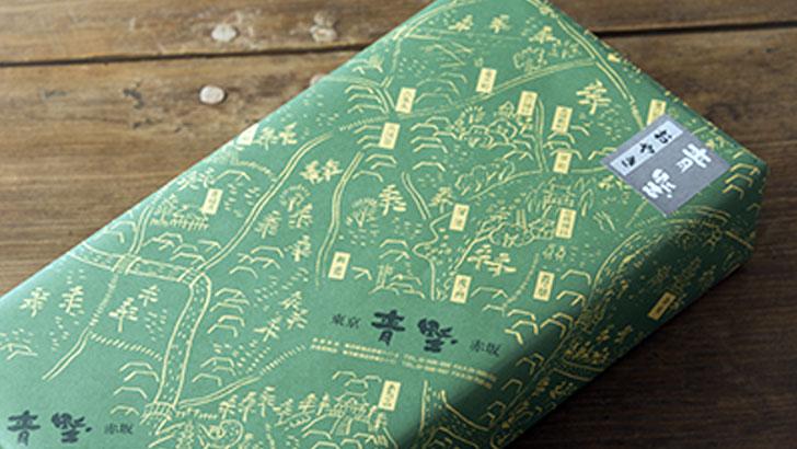 赤坂青野の包装紙