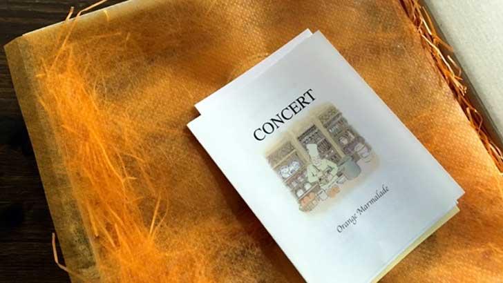 コンセールのオレンジケーキとマーマレード