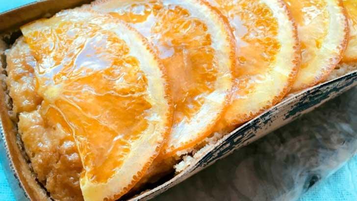 コンセールのオレンジケーキ
