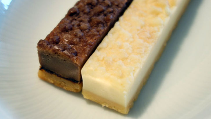 小岩井農場 チーズケーキバー プレーンとショコラ