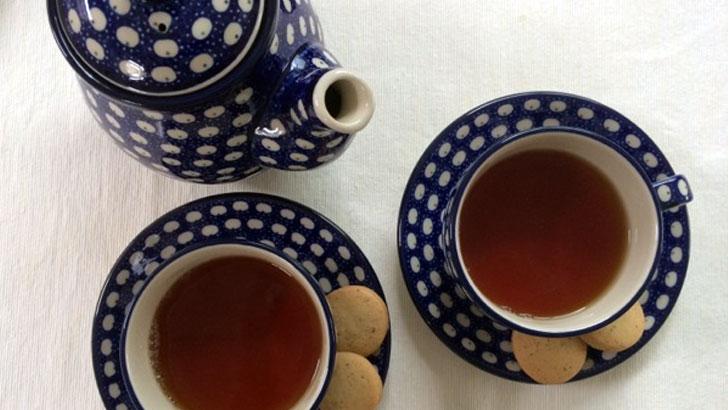 セラミカ(Ceramika Artystyczna)ドヌーブのカップアンドソーサー