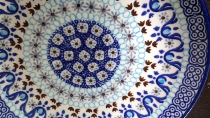 セラミカ(Ceramika Artystyczna)クリスティーナのプレート