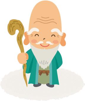 七福神|福禄寿(ふくろくじゅ)