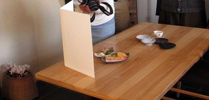 料理写真の撮り方
